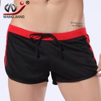 athletic wear for men - New Mens Trunks Boxer Shorts Sportwear Active Wear Casual Shorts Quick Dry Running Shorts Men Athletic For Man Brown DK