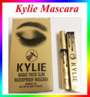 Wholesale Kylie Jenner Mascara Magic thick slim waterproof mascara Black Eye Mascara Long Eyelash Charming eyes DHL