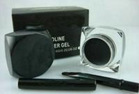 Wholesale New eyeliner Makeup NEW Black Eyeliner Waterproof Gel Liner Free brush