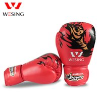 Wholesale NEWEST STYLE leather boxing gloves sandbag gloves sandbagged gloves adult sanda glove