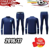 Wholesale 2016 and season training suit Marseille Batshuayi Genia Drachma about de Compostela Las foot football training suit