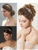 Wholesale Princess Shannara Korean Bridal Crowns Tiaras Crystal Beads Hairbands Hair Ornaments Handmade Wedding Accessories Headpieces SLN