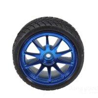antenna hanger - TopTrade mm Rubber Tire With Sponge Liner For Smart Car Robot tire set liner hanger