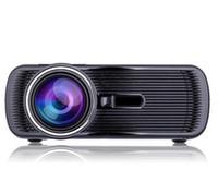 Wholesale BL P HD Mini Portable LED Cinema Home Theater Projector D AV USB SD VGA HDMI x1080 LCD Projectors