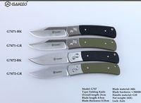 Wholesale Ganzo g7471 g7472 G7471 Bk G7471 GR G7472 GR G7472 BK folding knife Tactical Folding Knife for outdoor capming survival knife