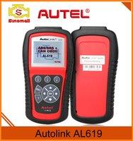 audi vin - Autel Autolink AL619 ABS SRS CAN OBDII Diagnostic Tool Retrieves Vehicle VIN CIN and CVN