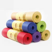 Wholesale Anti Slip Exercise Yoga Mat Pad Thickening Non Slip NBR Lose Weight Yoga Mat cm Sport Multifunctional Fitness Folding Gymnastics Mat