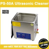 Wholesale PS A L W Stainless Steel Ultrasonic Cleaner washing basket Digital Control Heating Ultrasonic Washing Machine head CE FC RoHS