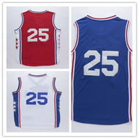 Wholesale 2016 ers Ben Simmons Fashion Casual T shirts Mens Simmons white red blue T Shirts Clothes Basketball Clothing
