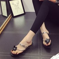 Wholesale Low Heel Women s Summer Sandals Flat Beach Sandal Shoes Flip Flops Slipper Women s Sandals Gladiator Slippers Ladies Summer Shoes