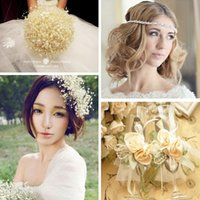 Wholesale DIY Beads Jewelry Roses Beads Wedding Party Decorations Beautiful Bridal Accessories Stage props Good Gifts Headwear