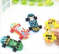 Wholesale Piece Hot Sale New Lovely Cute Cartoon Eraser Rubber Korean Stationery Creative Skids Novelty Kid Gifts Pencil Eraser
