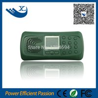 Wholesale hunting mp3 sound bird call with led lighting outdoor remote control bird caller