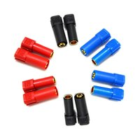 airplane plug adapter - 6 Pairs XT150 Connector Adapter Male Female Plug mm Gold Banana Bullet Plug