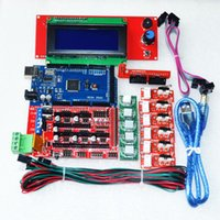 Wholesale CNC D Printer Kit for Arduino Mega R3 RAMPS Controller LCD x Limit Switch Endstop A4988 Stepper Driver