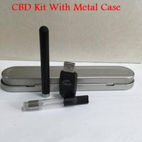 best cheap case - Free DHL E O Pen BUD Wax Dab Electronic Vape thick oil Vaporizer Best Selling CBD Kit With Metal Case Cheap price