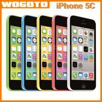 Wholesale Original Refurished iPhone C Apple Mobile Phone Dual Core GB Ram GB Rom Unlocked Apple Smartphone Support G Network