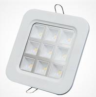 aluminum lattice - Factory Price square W recessed Led Grille Led ceiling light Led down light Led lattice light size mm mm