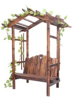 Wholesale Garden Furniture Ecological Friendly Wooden Garden Pergola