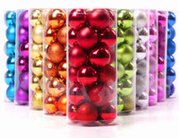 beaded ball ornaments - 120pcs Christmas Ball Balls With cm Mulity Color PVC Beaded Ball For Christmas Decoration Wedding Party