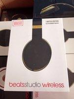 wang - Amazing Sound Beats by Dre alex wang black gold Beats Studio Wireless Headphones Great Bass Bluetooth Headsets with Retail Box