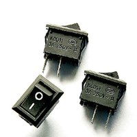 Wholesale 80003 Hot AC V A Pin ON OFF I O SPST Snap in Mini Boat Rocker Switch