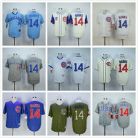 army bank - Men s Chicago Cubs Ernie Banks Baseball Jersey White Blue Gray Green Cream Ernie Banks Throwback Jersey