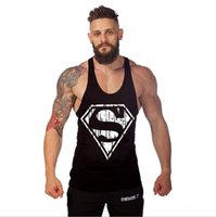 athletic undershirt - Men s Loose Gym Tank Tops Athletic cotton undershirt For Men Muscle Sleeveless Beauty Bodybuilding Sports Fitness Vests Tanks