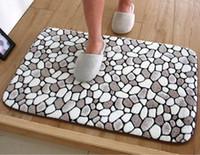 area printing machines - 40 cm anti slip bathroom mat soft kitchen carpet printed home floor mat area rug