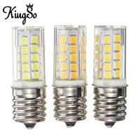 appliance bulb - Hot Sale Kingso E17 W LM Non Dimmable Appliance Silicone Crystal LED Lights Bulb Lamp Low Power Consumption V