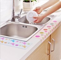 bathroom sinks cabinets - Hutch defends Self adhesive kitchen sink vegetables basin sink bathroom toilet waterproof stickers affixed to water pollution sticker