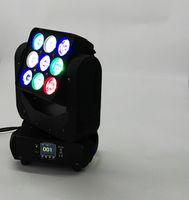 Wholesale 9pcs W Matrix and Wash LED Moving Head Light one year warranty