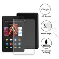 amazon hd quality - Qiaogle Tempered Glass Screen Protector Ultra Hard for Amazon Fire HD inch Version Ultra thin Highest Quality HD Clear Glass Film