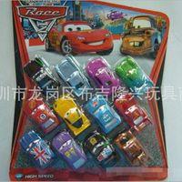 Wholesale hot sale12pcs set classic Anime Cartoon Pixar Cars Figures Full Set Piece Mini Model Toys Classic Toys for Gift