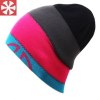 bell golf - WISHCART new fashion trend bell Hat ski cap double knitting hat wool hat for men and women