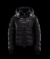 Wholesale Brand New Male Casual Winter Down Coat Luxury Designer Mon Thick Down Jacket Outerwear Plus Size Padded cotton Clothes