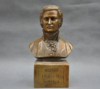 austria bronze - New Quality Fashion Picture of Chinese culture Statue gt gt quot Austria Great Musician Wolfgang Amadeus Mozar Bust Bronze Statue