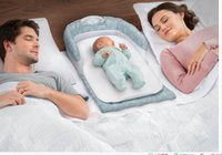 Wholesale Baby Delight Snuggle Nest Portable Baby Crib Infant Bed Tent Baby Bed Cotton Folding Baby cradle