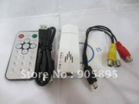 Wholesale USB Analog TV Tuner with Remote control Using the latest high performance integrated tuner demodulatorb