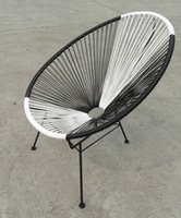 beach basket chair - 2016 Australia Waterproof outdoor rattan oval acapulco chair Outdoor Rattan Reclining Basket Beach Acapulco Chair