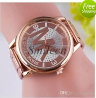 Wholesale good MK Michael Kores style wristwatch watches Stainless Steel bracelet top brand luxury replicas Jewelry for men women mens MW23