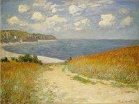 beach watercolor paintings - Giclee Landscape Oil Painting Beach oil painting arts and canvas wall decoration art Oil Painting on Canvas X90cm MRR028