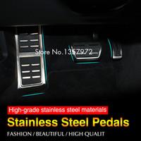 audi footrest - DSG Sport Fuel Brake Footrest Pedal AT For Audi A6L A7 A8 S4 RS4 A5 S5 RS5 T Q5 SQ5 R auto accessories