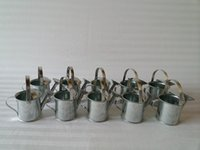 Wholesale Tin toy watering cans Mini Watering Can Favor Box for baby shower Kids Decorative Watering can