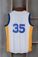 Wholesale 2016 New style basketball jerseys Jersey blue white black yellow size S XL accept mix order drop shipping