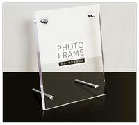 acrylic box photo frames - Originality Acrylic frame Crystal photo frame inch inch inch Certificate box