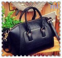 Wholesale 2016 Brand Designer Women Shoulder Bags Plain Crocodile Leather Handbags Colors Big Capacity Women Tote Messenger Bags Hot Selling L M87