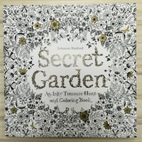 english books - 96 Pages x25cm Coloring Books English Edition Secret Garden Adult Graffiti Painting Drawing Book Kill Time And Stress Relieve Tool