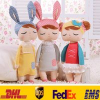 Wholesale 13inch cm New Genuine Metoo Cartoon Stuffed Animals Angela Plush Toys Sleeping Dolls For Children Kids Girls XMAS Gifts HH T11
