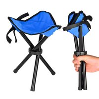 Wholesale Outdoor Camping Tripod Folding Stool Chair Fishing Foldable Portable Fishing Mate Chair